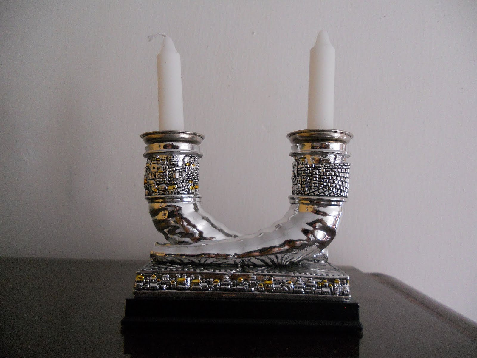 Candelabro para Shabbat