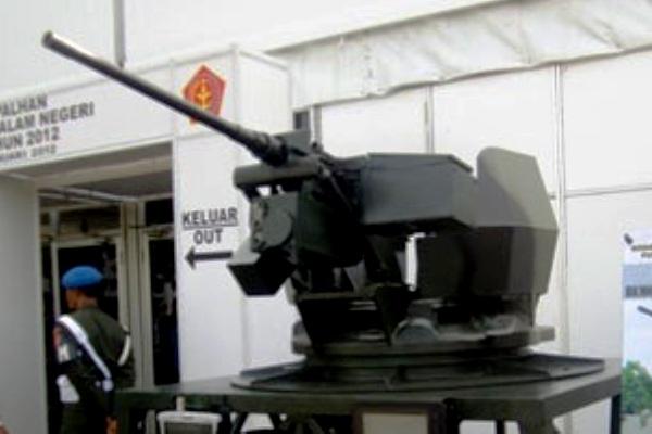 RCWS (Remote Control Weapon System). PROKIMAL ONLINE Kotabumi Lampung Utara