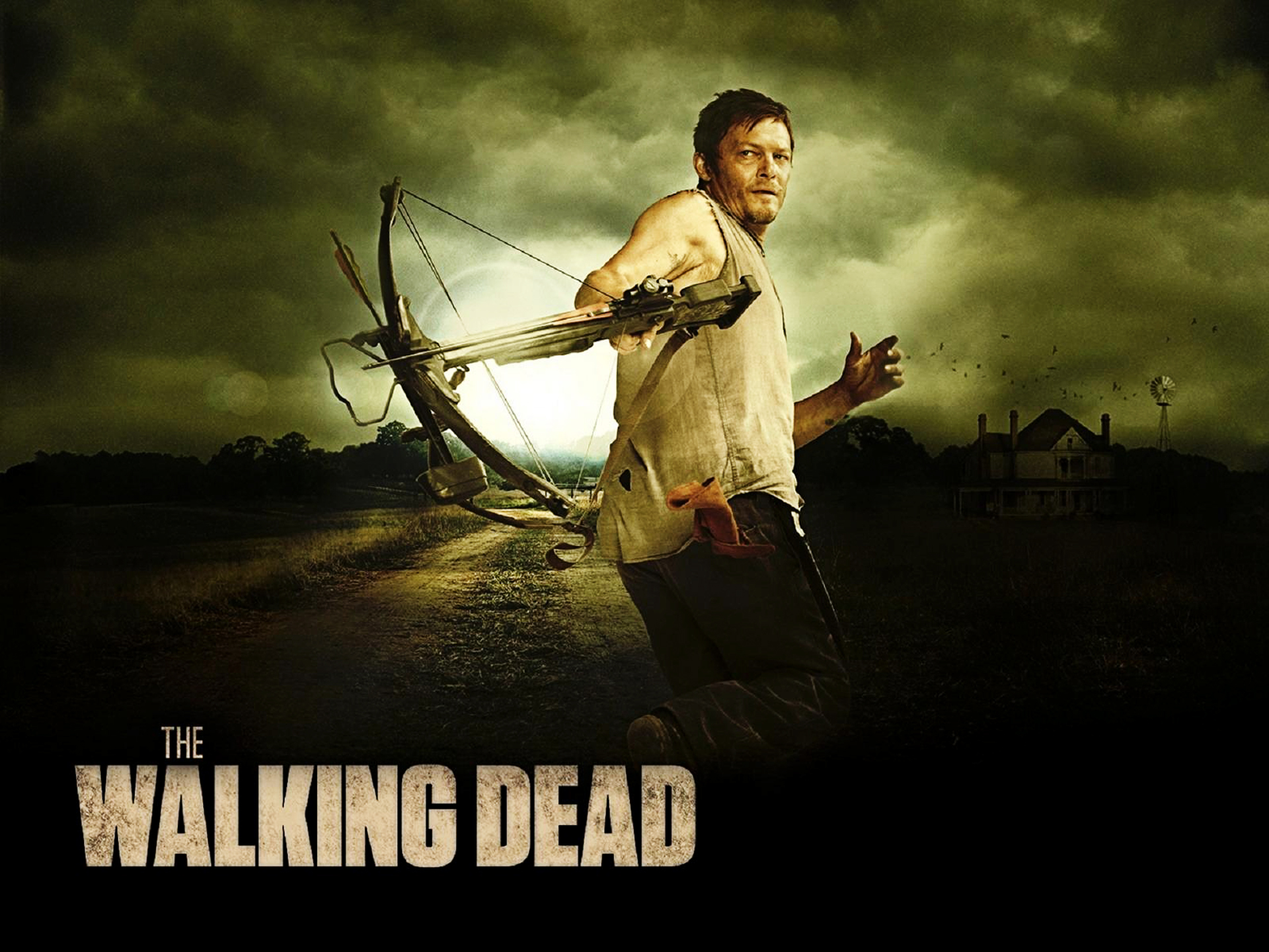 hd wallpaper: daryl dixon the walking dead hd wallpapers