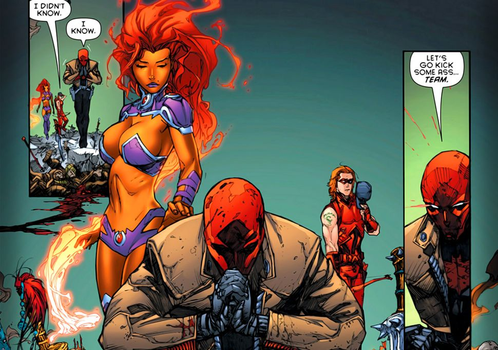 the and Red starfire hood outlaws