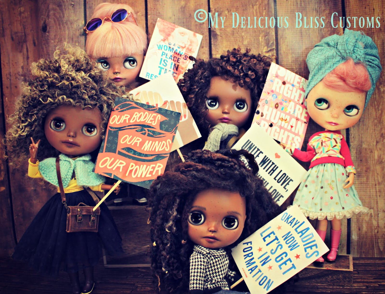 Beautiful Brown Blythe