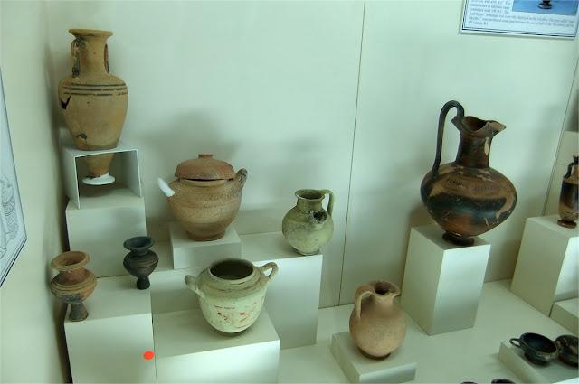 Vasijas - Museo Arqueológico de Antalaya