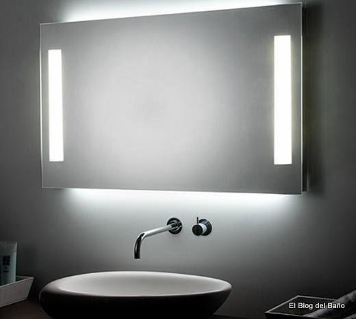 El blog del ba o espejos de ba o retro iluminados de koh for Espejos para banos con luz incorporada