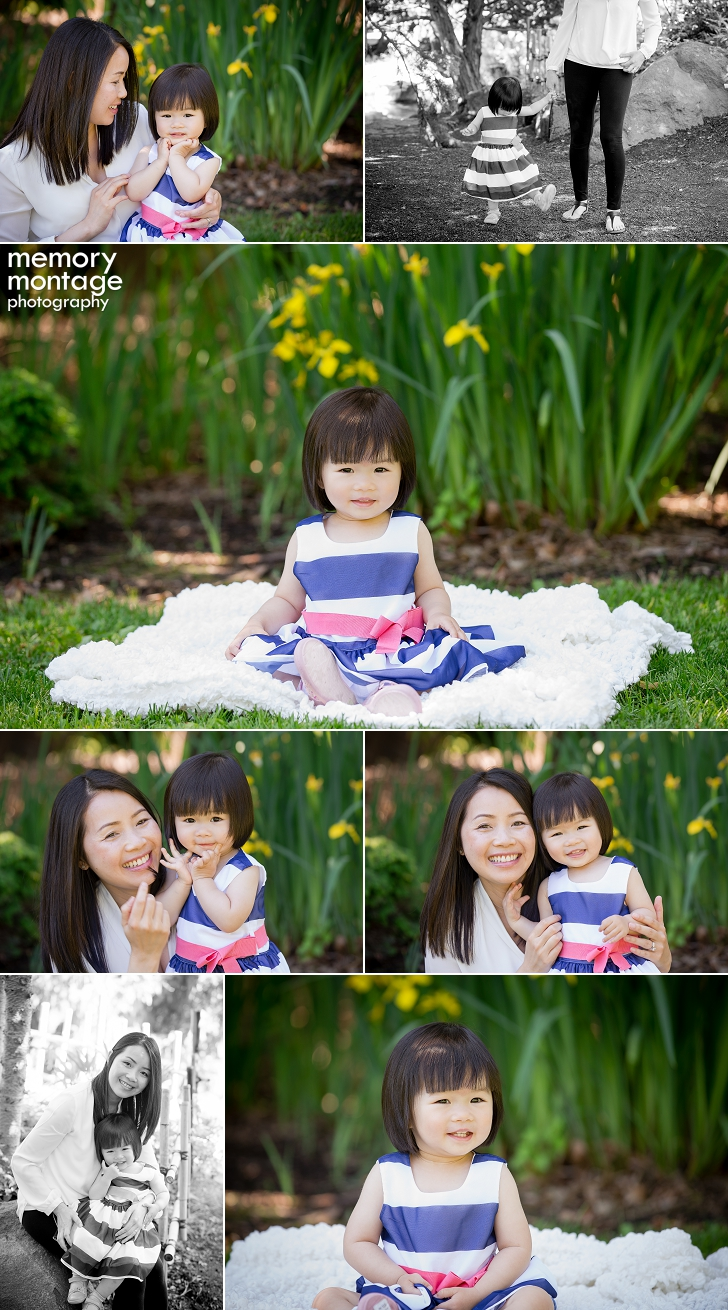 Mother daughter photography session, family photography, Yakima family photographers, memory montage photography