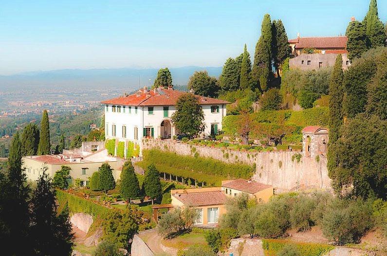 Edith Wharton In Italy Villas And Gardens Of Tuscany