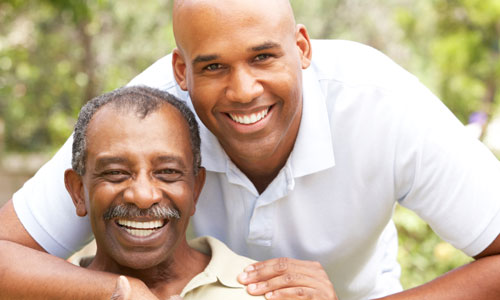 15 Things We Can Only Learn from Dad father son daddy black brown colored people bond
