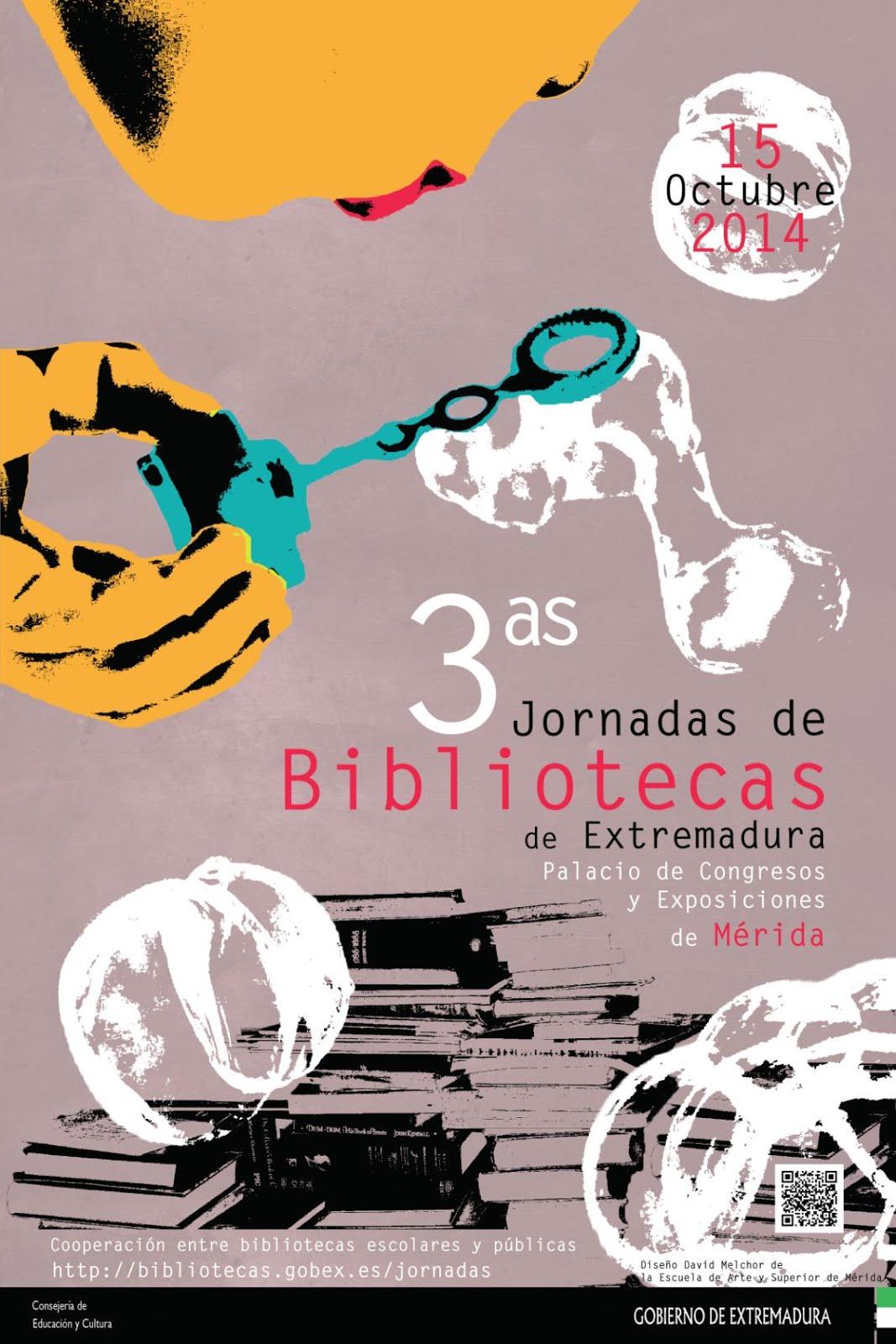 PONENCIA EN LA III JORNADAS DE BIBLIOTECA DE EXTREMADURA