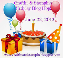 Craftin' & Stampin's Birthday Blog Hop