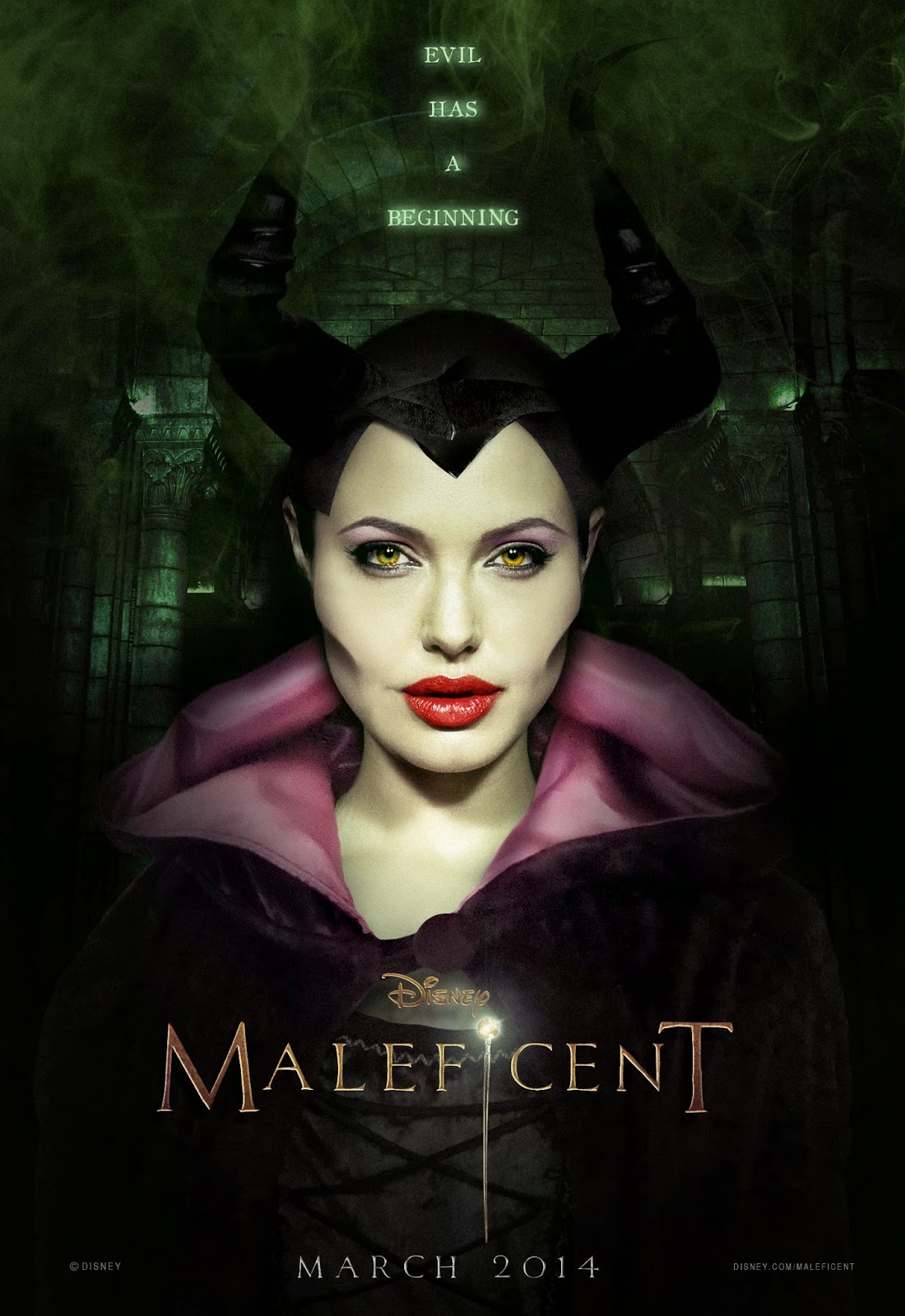 Maleficent poster filmprincesses.filminspector.com