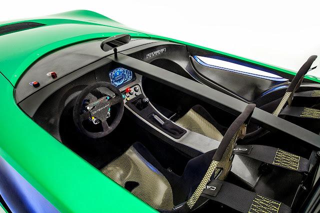 Caterham Aeroseven Concept Car interior
