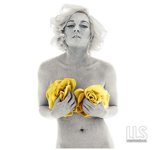 Lindsey lohan desnuda marilyn munroe
