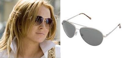 Moda gafas de aviador