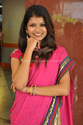 Isha Agarwal Latest Photos in pink saree