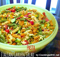 Italian Garden Pasta Salad