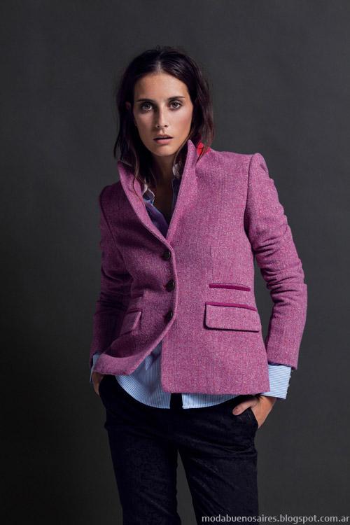 Blazers invierno 2013 moda Carmela Achaval.