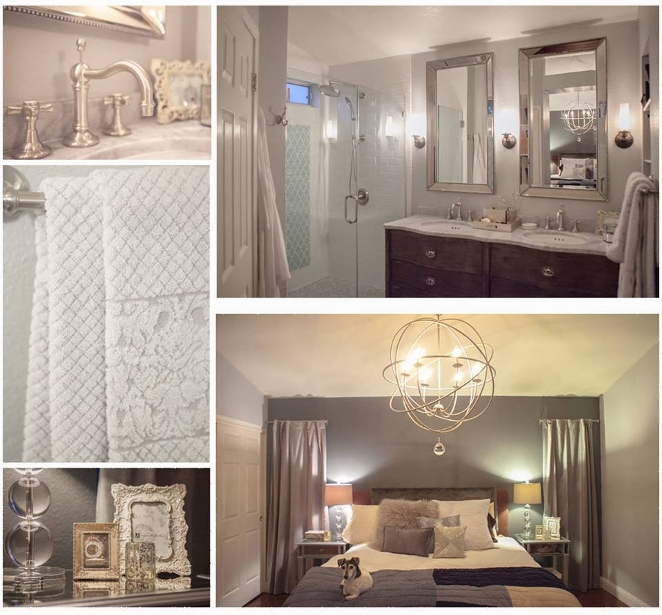 neutral bathroom, neutral bathroom, master suite, master bedroom, em design interiors