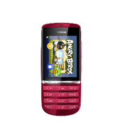 Nokia Asha 300: Touch Screen Cell Phone at Low-end Market