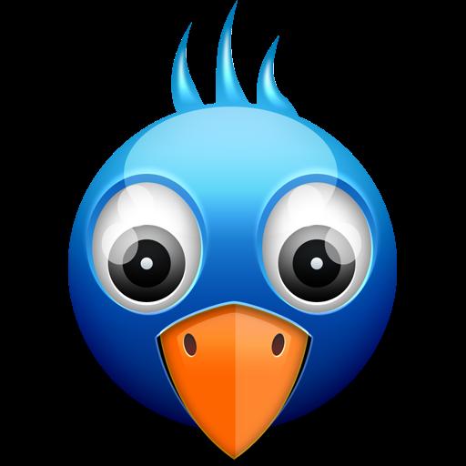 Little Twitter Birdie Icon PSD