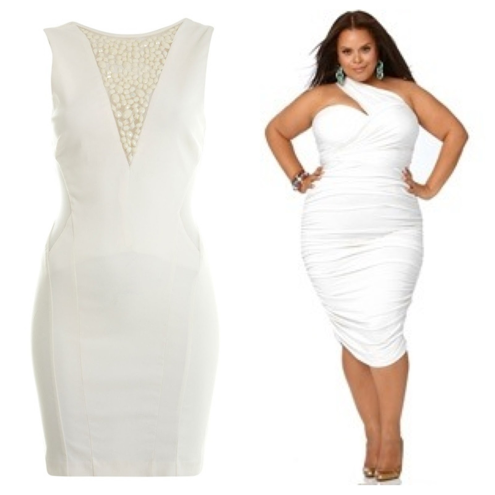 All White Party Dresses - Formal Dresses