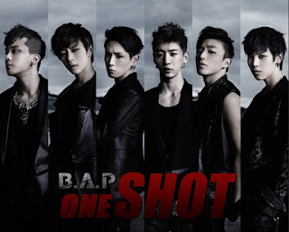 B.A.P BAP One Shot members review picture with words
