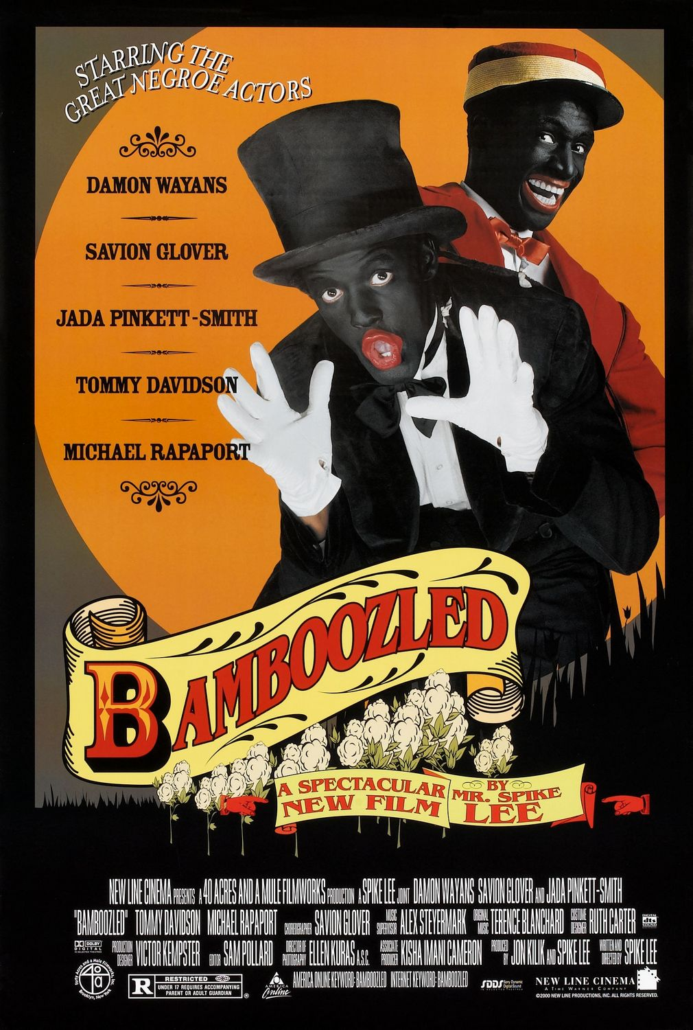 an analysis of the movie bamboozled Since you evoked the context of your first viewing, and since mine bore heavily on my response to the film, i'm reciprocating: i saw bamboozled on the last tr: the person we've not discussed yet in this analysis is manray, also required to do an about-turn from malleable naif to jealous, possessive accuser, which i'm.
