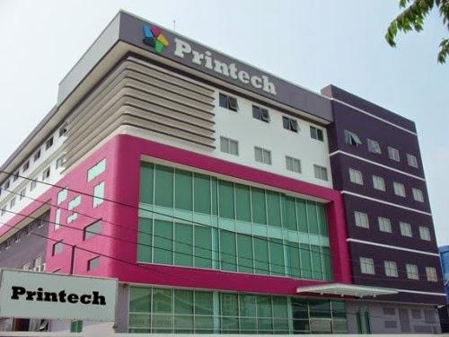 Pabrik dan kantor printech