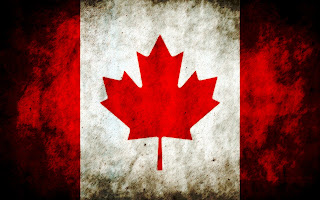 Canada Flag Grunge Design HD Wallpaper