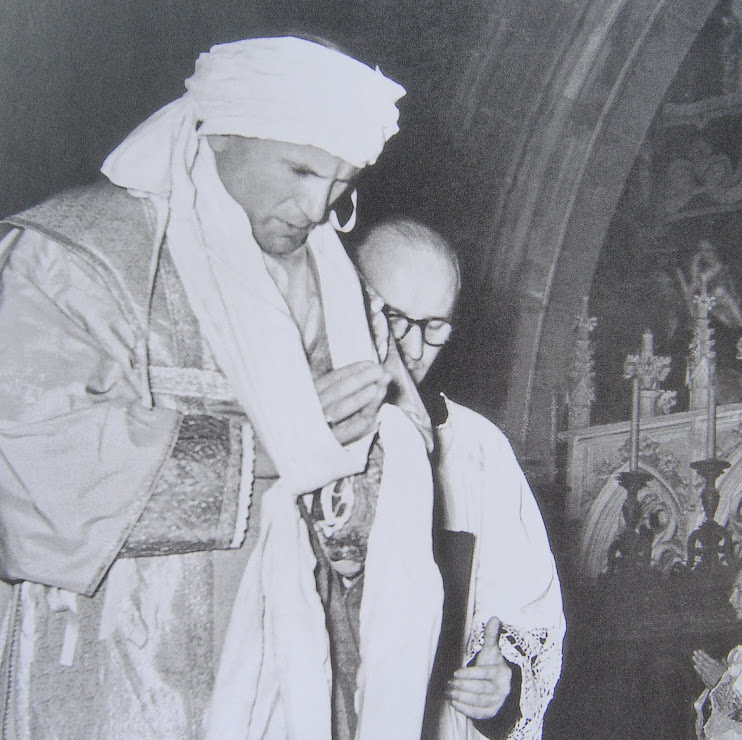Karol Wojtyla ordained a bishop in 1958 -Cracow, Poland