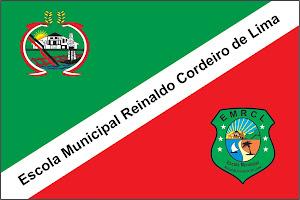 bandeira da Escola Reinaldo Cordeiro de Lima