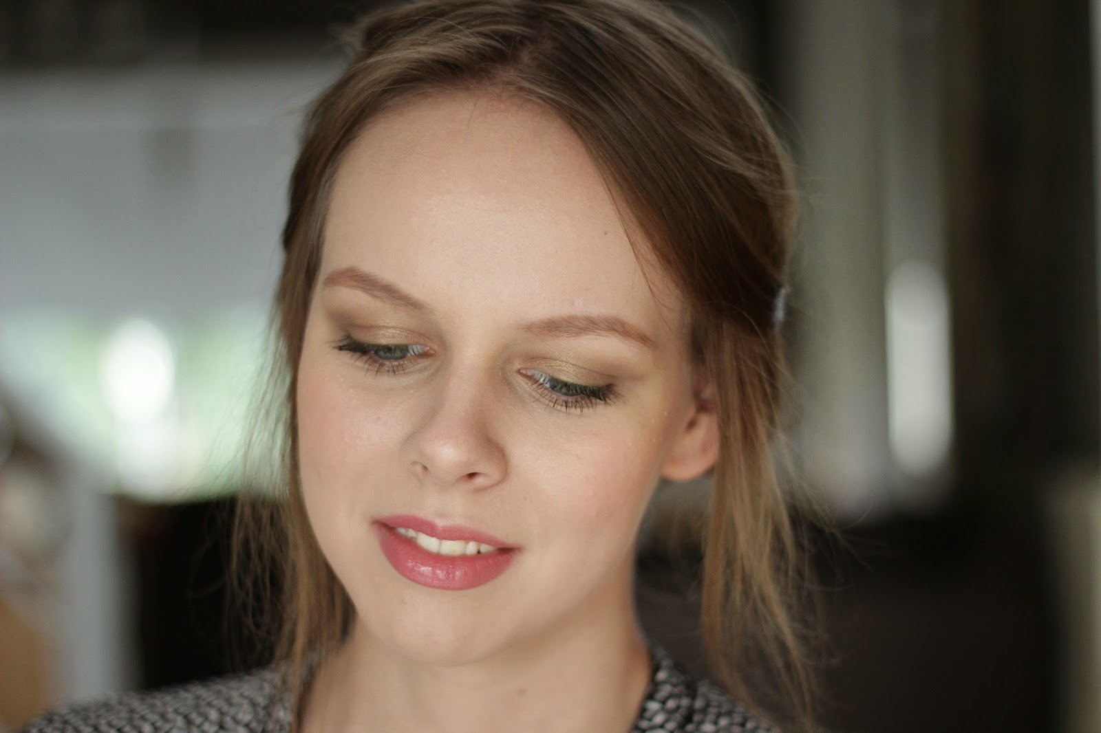 make-up look london feel, neutrale make-up look
