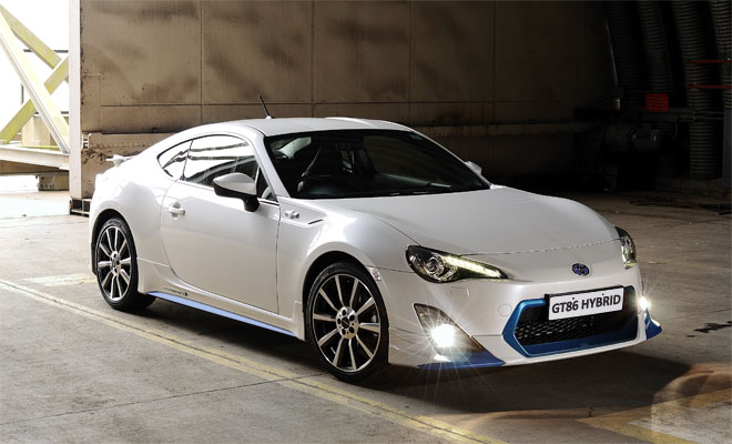 How a GT86 Hybrid might look
