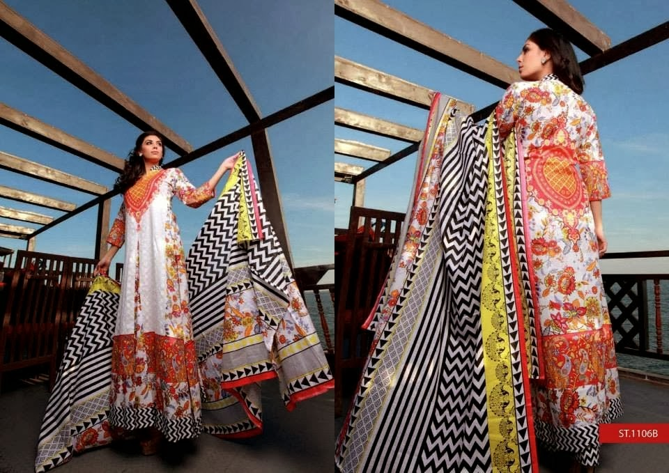 Stunning Lawn Dresses With Luxurious Look