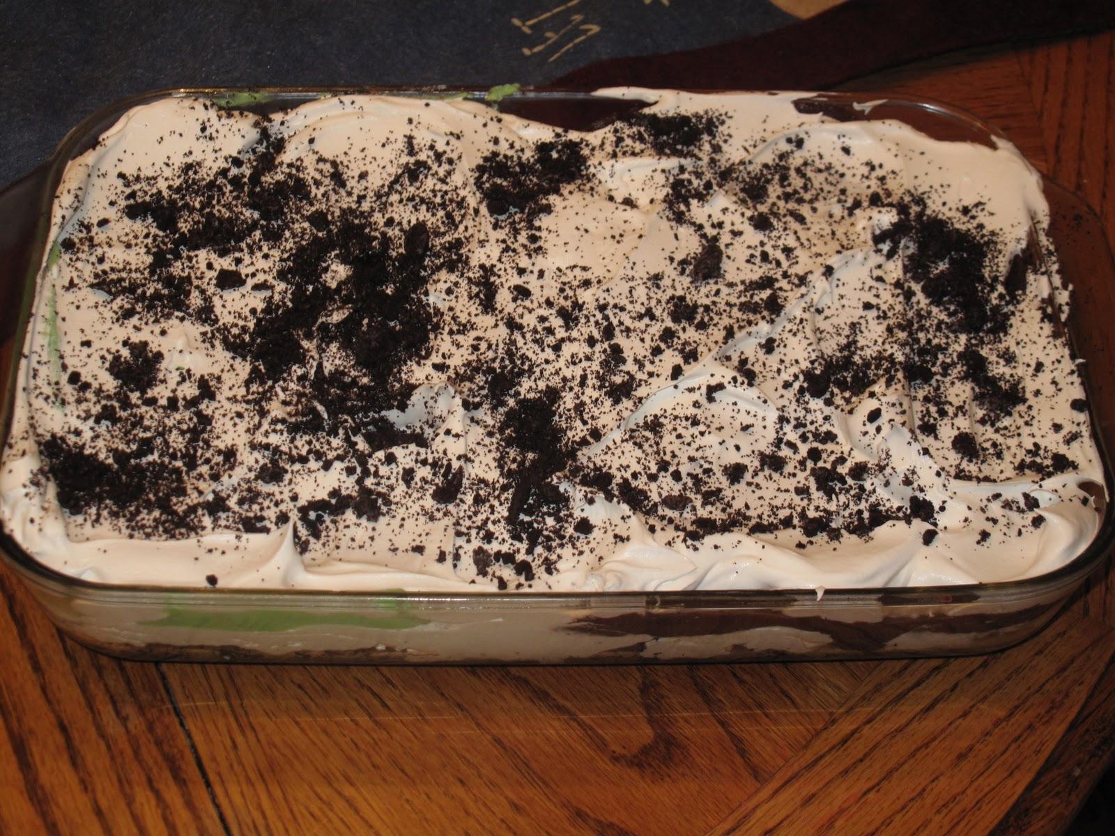 Bj Brinker S Home Cooking Dirt Cake