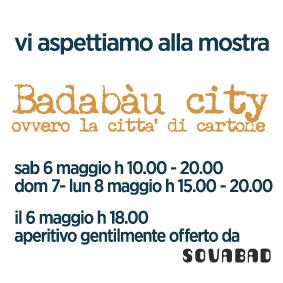 Badabau city - La città cartone