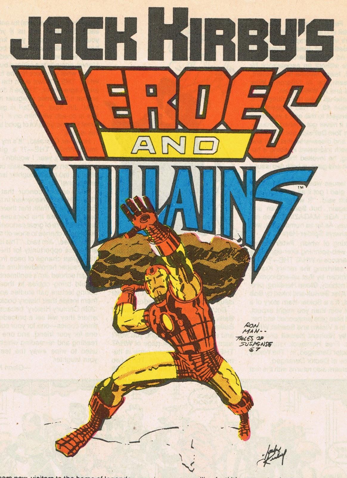 Cap'n's Comics: Iron Man by Jack Kirby