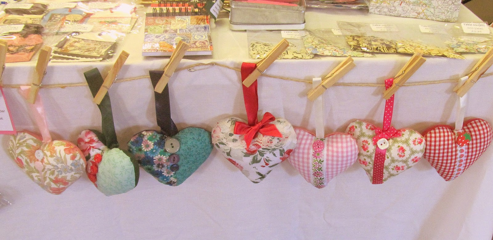 Pink Flamingo Handcrafting stall