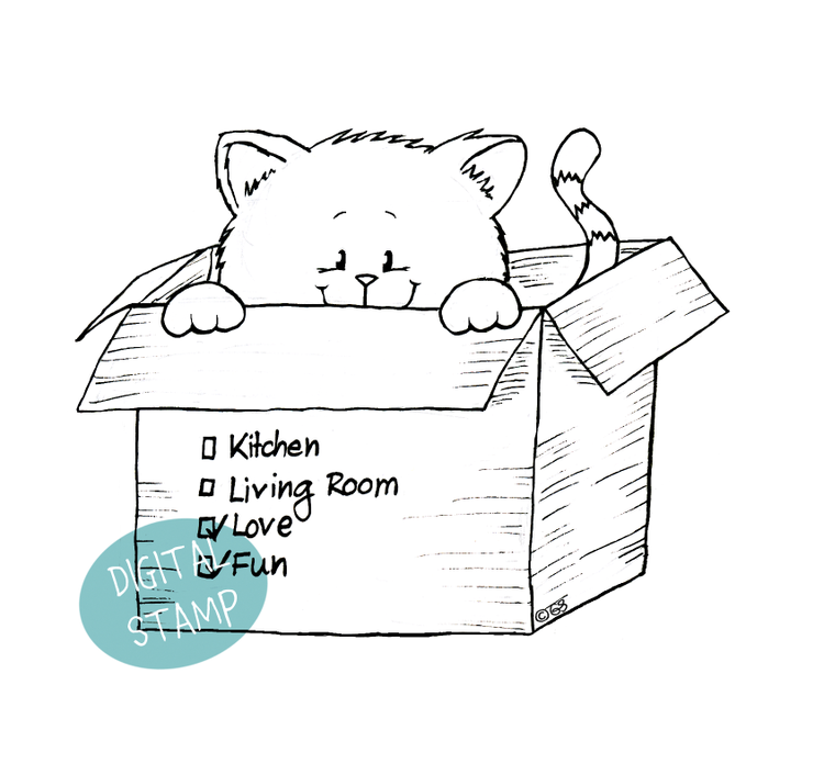 http://gerdasteinerdesigns.com/all-digital-stamps/kitten-in-the-moving-box