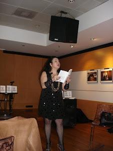 Isabel Rosete na 6ª Sessão de apresentação do deste seu livro
