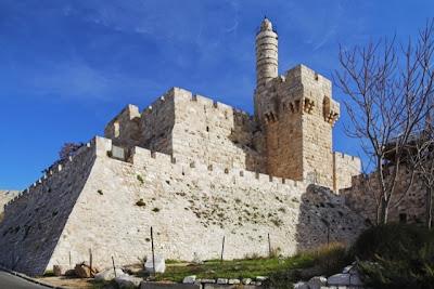 Torre de David y murallas de Jerusalen