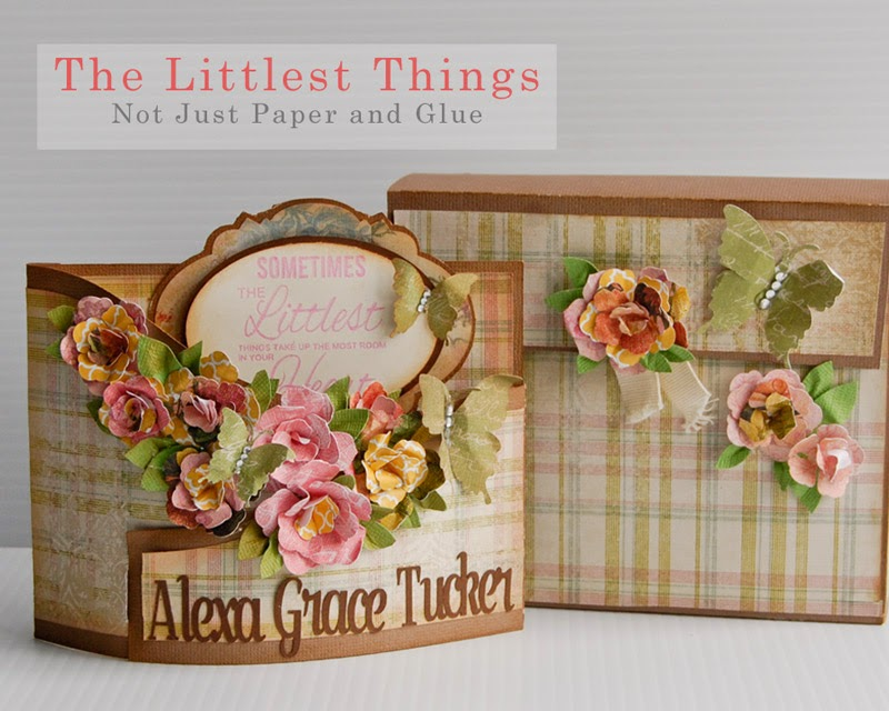 Not Just Paper and Glue: The Littlest Things Bendy Card