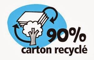 Jeu fabriqué dans du carton recyclé