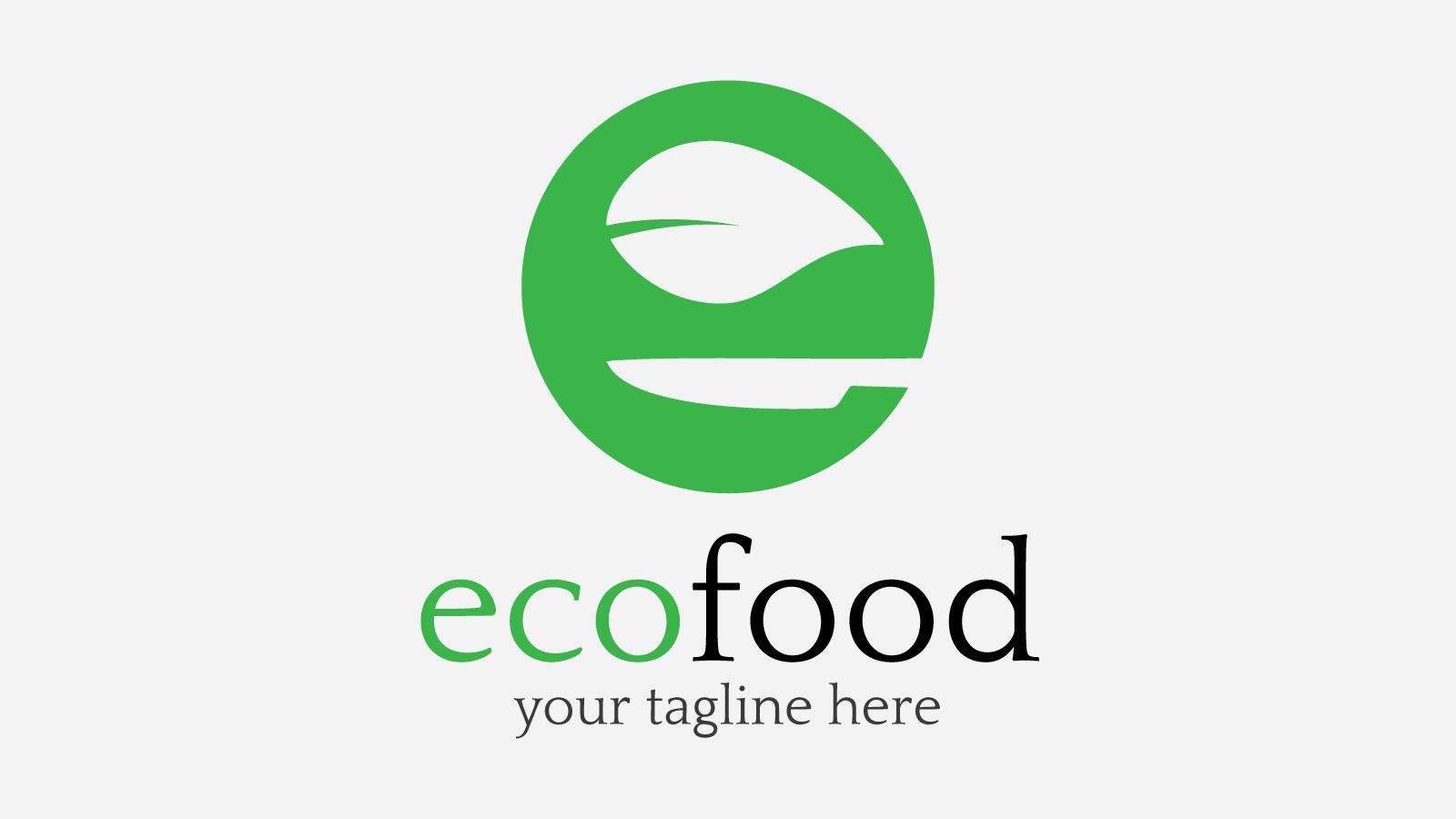 free logo templates - ecofood free logo design zfreegraphic free vector logo
