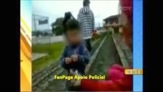 ABSURDO: Babá é flagrada dando maconha para uma criança de 3 anos