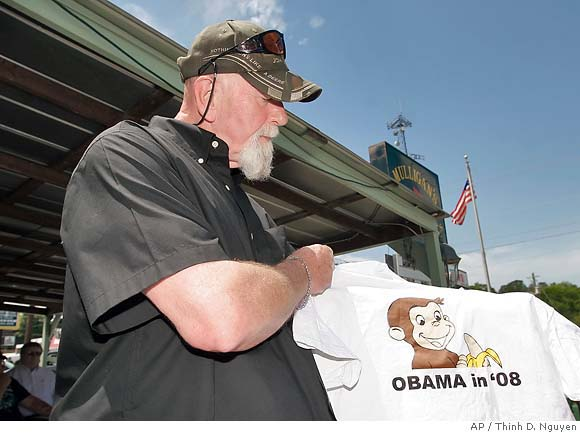 What's good for the goose is good for the gander Obama+curious+george+shirt