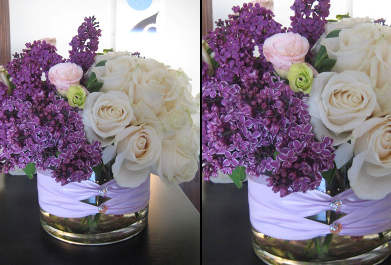 custom design fresh flower arrangement decorations for your events