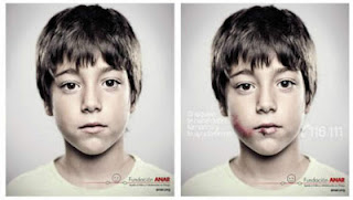 ANAR and Grey Spain team up against child suffering with creative lenticular abribus ad