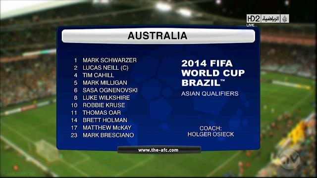 Full match: Australia vs Iraq