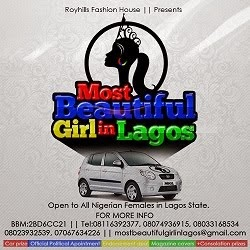 Most Beautiful Girl In Lagos 2015