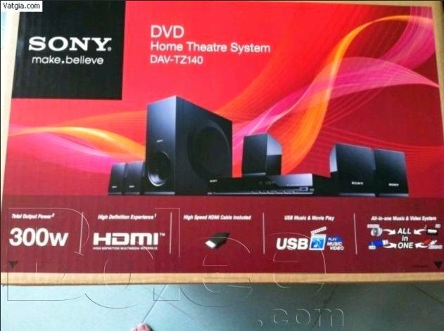 SONY DAVTZ140 5.1CH DVD HOME CINEMA SYSTEM MANUAL