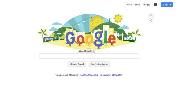 Google Ikut Meriahkan Pembukaan Piala Dunia